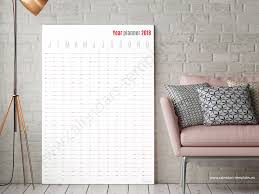 yearly planner template best vertical planner 2018 big yearly wall planner template vertical planner agenda template 2018