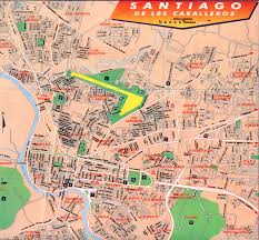 Map Dominican Republic Map Of Santiago De Los Caballeros Santiago Live Maps Of The