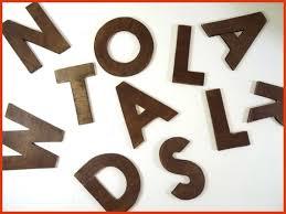 lettres d馗oratives cuisine lettres décoratives cuisine tonnant lettres decoratives murales