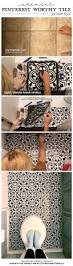 Paint Bathroom Tile by Best 20 Paint Ceramic Tiles Ideas On Pinterest How To Paint
