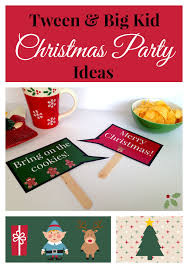 Christmas Party For Kids Ideas - tween u0026 big kid christmas party ideas