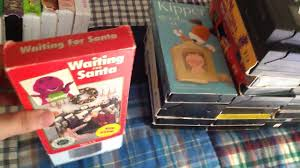 Barney Three Wishes Vhs 1989 by Barney U0027s Waiting For Santa 1993 Vhs Youtube