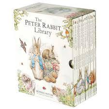 peter rabbit library 12 book box beatrix potter
