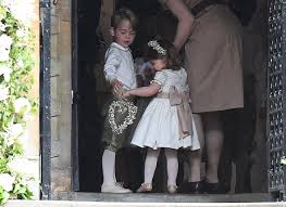 pippa middleton wedding charlotte and george look adorable time