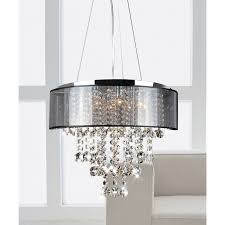 Dining Room Crystal Chandeliers This Stunning Modern Crystal Chandelier Makes An Elegant Highlight