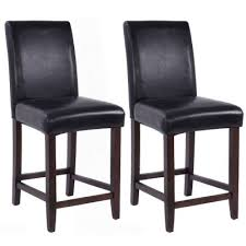 dining room stools set of 2 kitchen bar stools padded dining height wood chairs modern