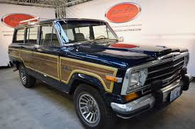 jeep wagoneer 1989 jeep grand wagoneer 1989 sold classic car auctions