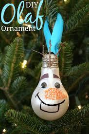 diy olaf ornament craft raising whasians