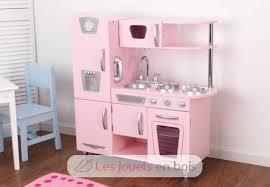 cuisine en bois fille kidkraft cuisine et refrigerateur vintage en bois pour