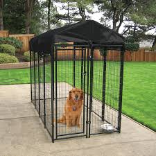 Petmate Indigo Dog House Xl Lucky Dog Uptown Welded Wire Dog Kennel With Free Cover Hayneedle