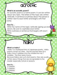 good explanation of haikus for my older kids in april the whole