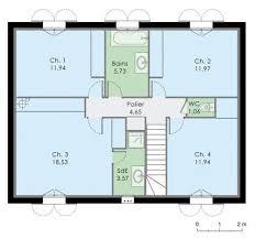 plan maison 3 chambre 36 unique plan maison 3 chambres idées de décoration