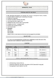 hr cv sample for freshers resume for mba hr itacams 4b7b3c0e4501