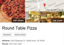 Round Table Pizza Santa Rosa Ca Round Table Pizza Google 3d Tour Santa Rosa