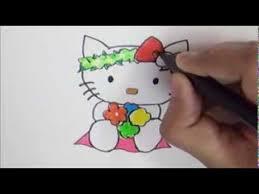 draw kitty kitty welcoming