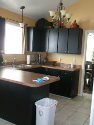 Black Cabinet Kitchen I Am Momma Hear Me Roar How To Paint Your Cabinets