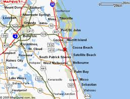 melbourne fl map map of brevard county merritt island cocoa melbourne to