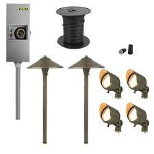 landscape lighting kits outdoor lighting volt lighting
