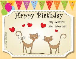 happy birthday sweet messages wishes in pics