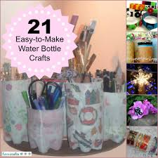 25 easy to make water bottle crafts water bottles bottle and