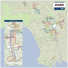 Map Los Angeles Dash Map Los Angeles Indiana Map