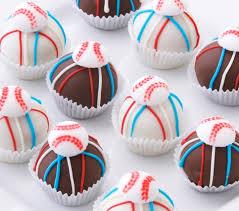 baseball cake balls gluten free cake balls hand crafted cake
