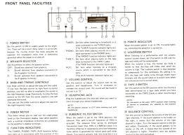 pioneer sa 510 manual u0026 specifications audio ho ho
