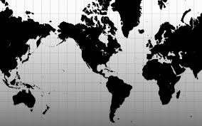 World Map Wallpaper by World Map Black And White Wallpaper Wallpaper Hd