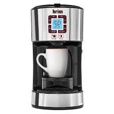 brim size wise programmable coffeemaker d u0026 h distributing co