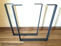 Large Table Legs by Dining Table Iron Legs Wood Dining Table Iron Legs Flat Metal
