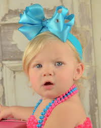 beautiful bows boutique buy boutique turquoise satin hair bow headband online at
