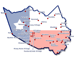 Texas County Map With Cities Harris County Maps Image Gallery Hcpr