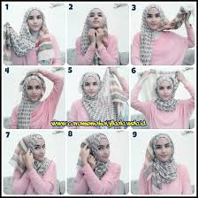 tutorial jilbab jilbab tutorial hijab segi empat untuk wajah bulat tutorial hijab hijab