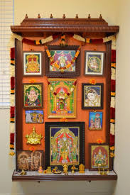 how to decorate a temple at home teak wood pooja room door designs ideas for ganpati decoration