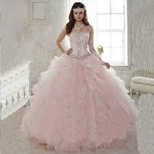 light pink quince dresses 2016 hot light pink quinceanera dress gown sweetheart
