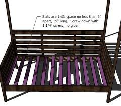 Wooden Outdoor Daybed Furniture by Ana White Outdoor Daybed With Canopy Diy Projects
