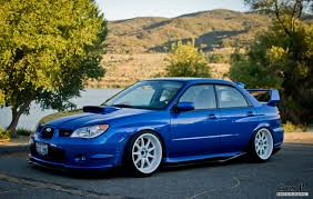 stanced subaru 2007 subaru sti new subaru car