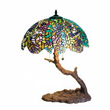 warehouse of tiffany 1686 bb449 tiffany style tree lamp green