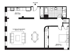 modern 2 bedroom apartment floor plans