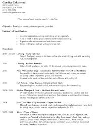 Prep Cook Resume Examples Food Prep Description Resume 28 Images Resume Fast Food
