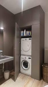 machine a laver dans la cuisine meuble de machine a laver lave linge sous salle bain pour et seche