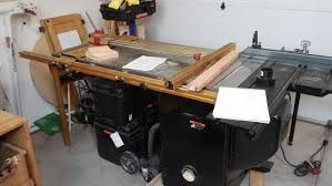table saw router combo benchdog cast iron router table on sawstop pic per request by