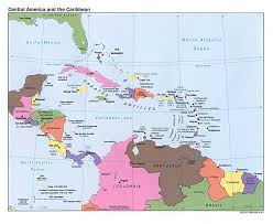Political Map Of Mexico by Caribbean Catastrophes Science