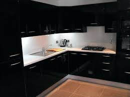 kitchen cabinet doors high gloss cabinets white can you paint ebay