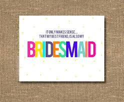 cards to ask bridesmaids best friend bridesmaid ask your friend from rockcandiedesigns