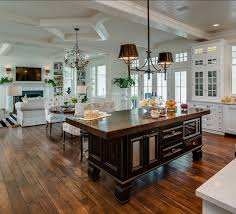 kitchen open floor plan amazing open floor plan kitchen design best decorating living