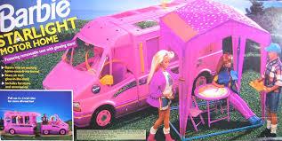 jeep barbie amazon com barbie starlight motor home pink vehicle motorhome van