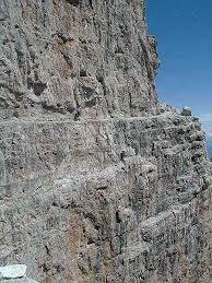 narrow picture ledge the narrow ledge of sentiero photos diagrams topos summitpost