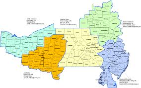 Pennsylvania Map Cities by Pennsylvania Stormready Contacts