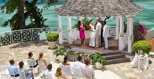 sandals jamaica wedding this enchanting gazebo at sandals royal plantation offers